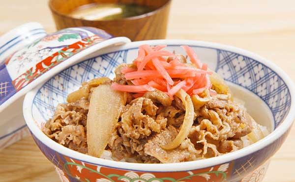 牛丼をダイエット中に食べたい・低カロリーに抑えるコツ
