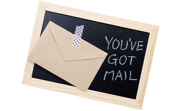 メールの着信