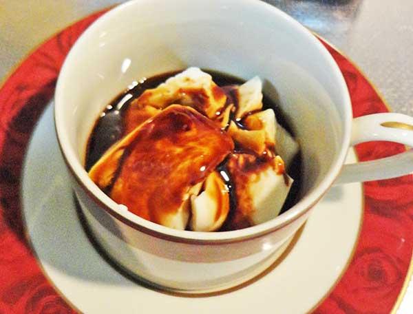 エスプレッソ風カラメル豆腐