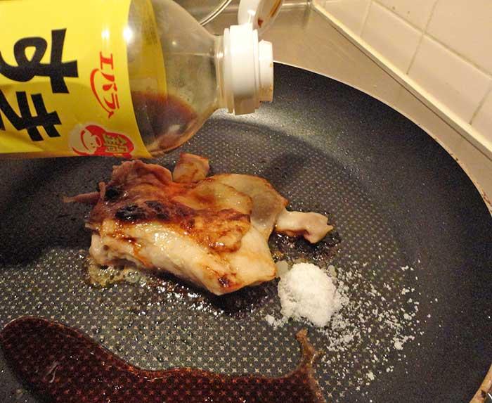 鶏の照り焼き作り方