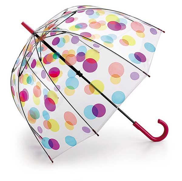 フルトンのビニール傘水玉