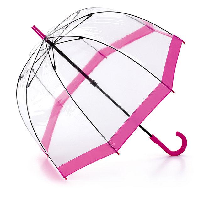 フルトンのビニール傘ピンク