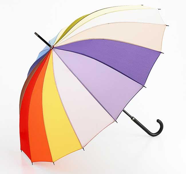 フルトンの傘レインボー