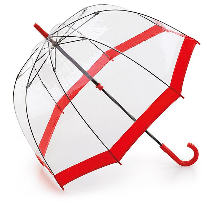 フルトンのビニール傘レッド