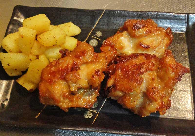 甘辛ジューシー鶏の唐揚げ