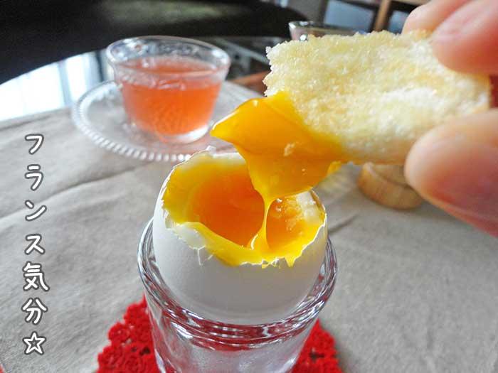 フランス気分な朝食完成
