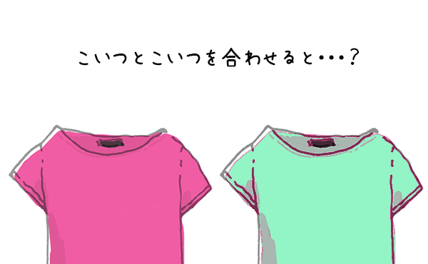 これがリメイク?!オシャレなバイカラーTシャツの作り方3選