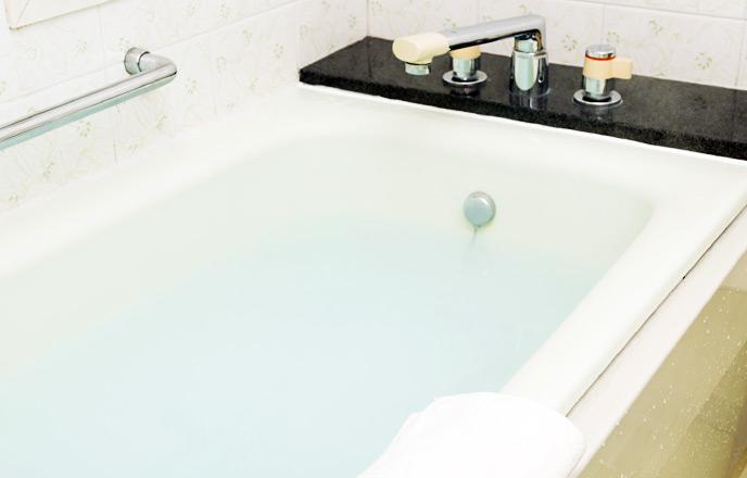 リラックスできそうなお風呂場