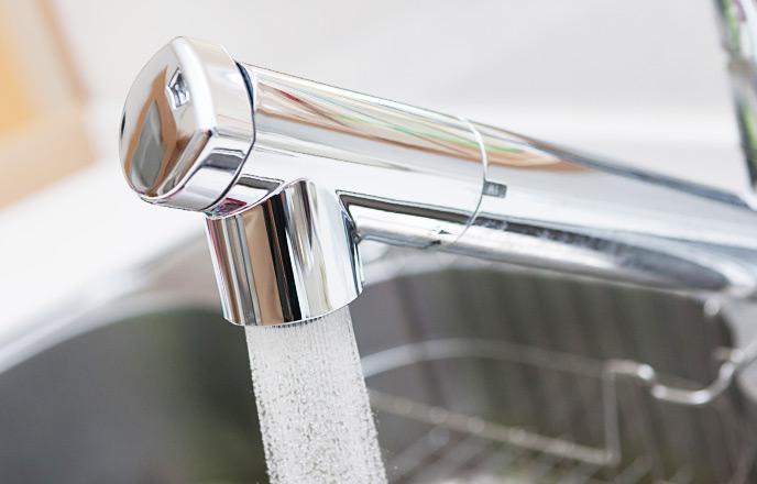 浄水機能のある水道