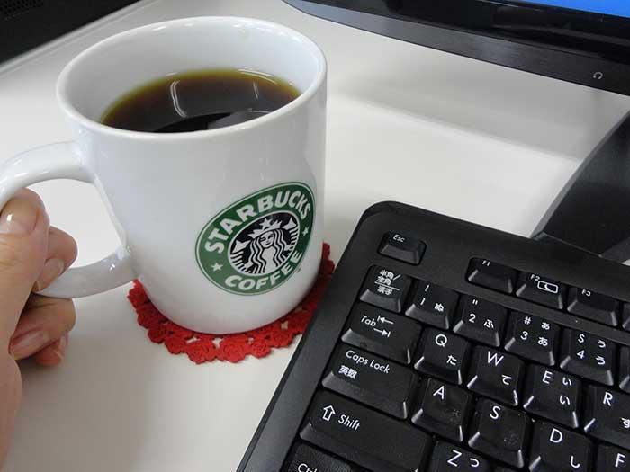 コーヒーは水分補給にはならないです