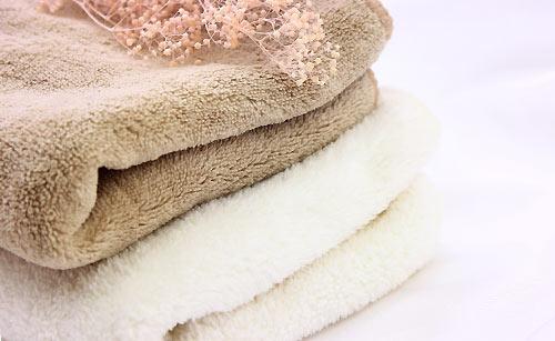 暖かいタオル