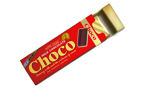 一口サイズのチョコ