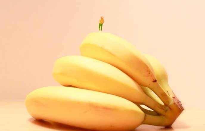 甘そうなバナナ