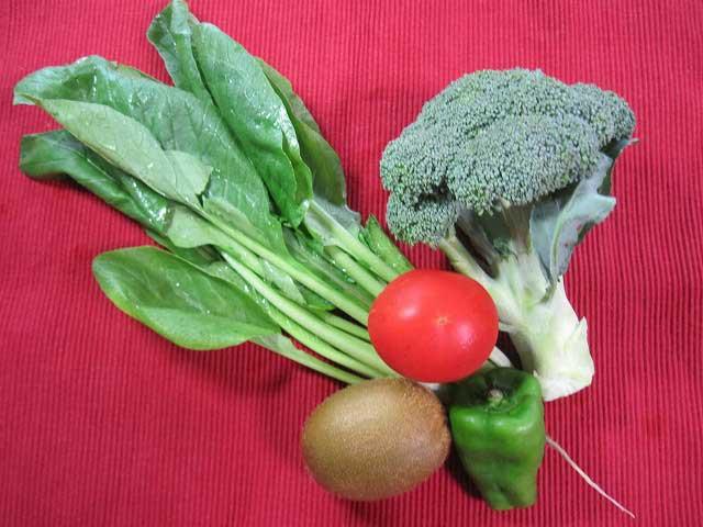 肌をきれいにする野菜