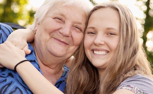 仲がいい母と娘