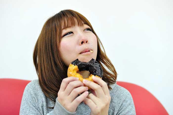 ドーナッツを食べて失恋ストレス発散!