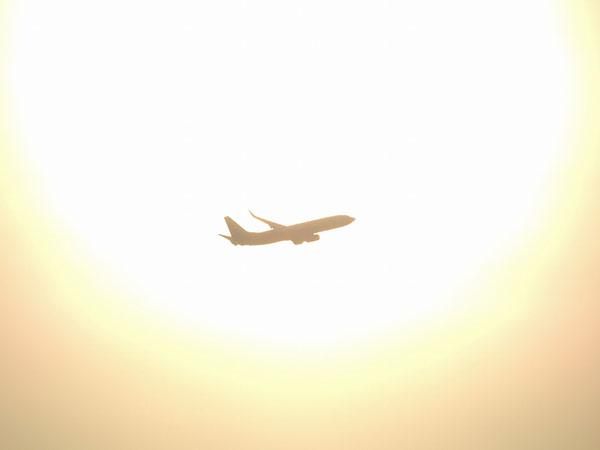 別れの名言イメージ飛行機