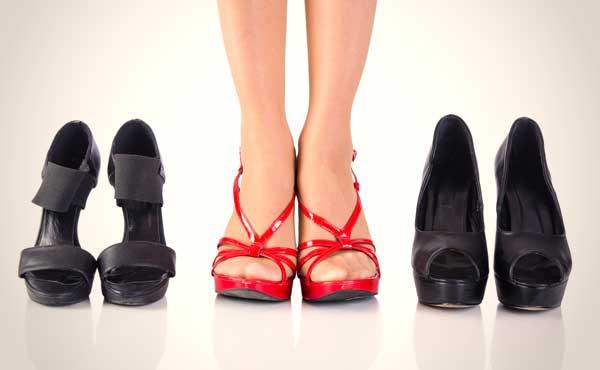 通気性のいい靴