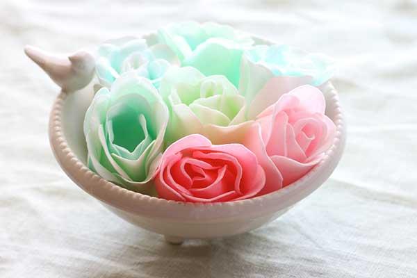 ホワイトデーに癒しグッズバラの入浴剤