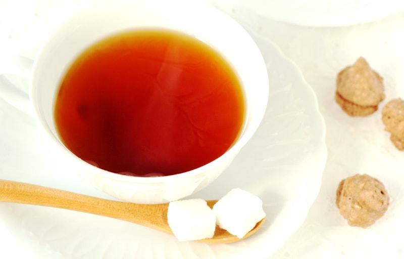 紅茶と角砂糖