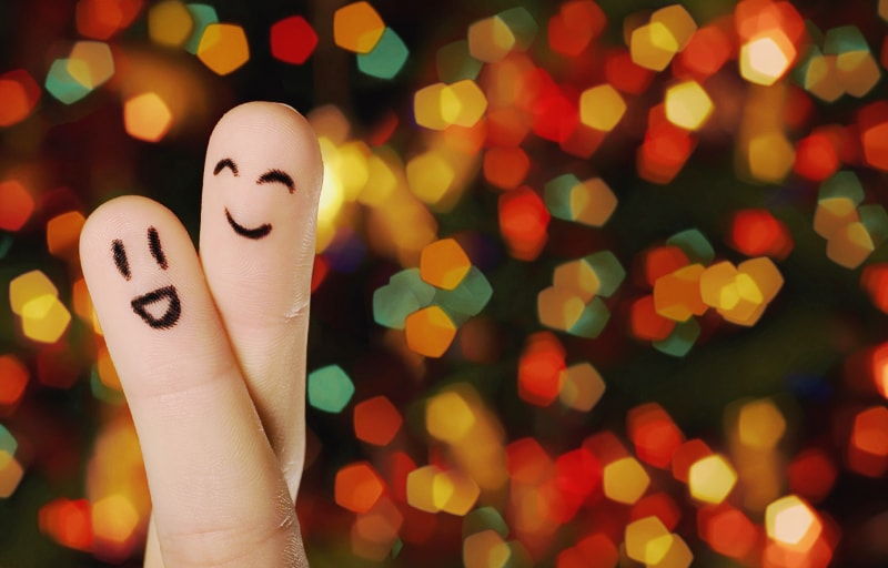指のカップル