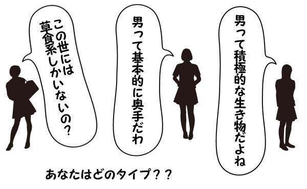 【美人・普通・残念な女性】それぞれタイプを取り巻く【3種類の男】