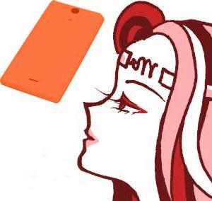 オレンジスマホ
