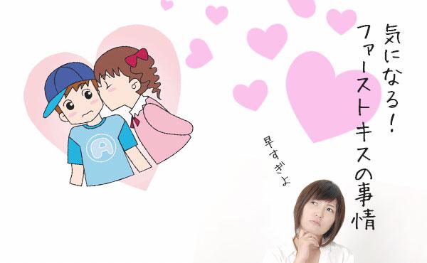 【他の人の初キス事情】ファーストキス感想・場所・年齢・タイミング!