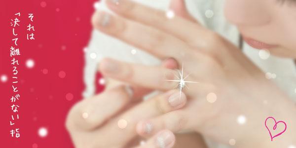 結婚指輪は左手薬指にはめる理由