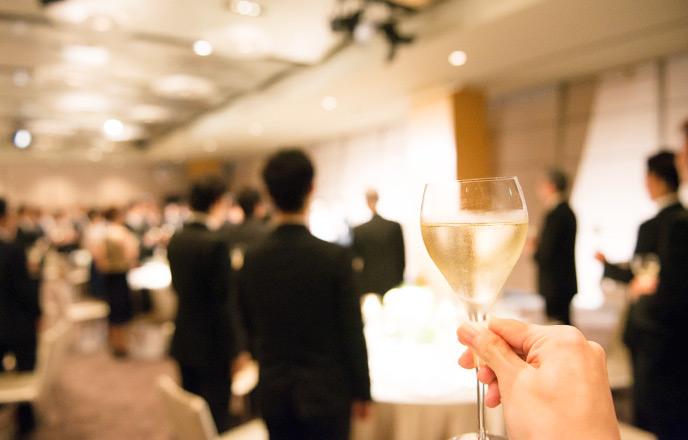 結婚式での乾杯