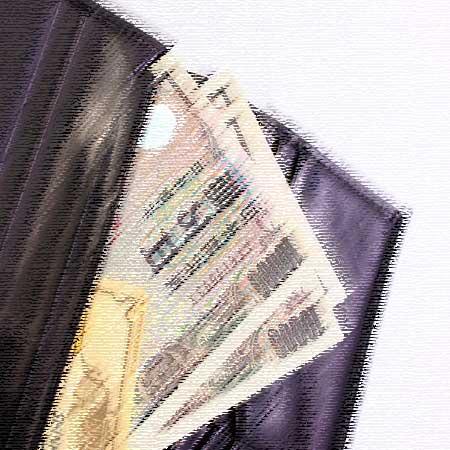 財布の中のお札