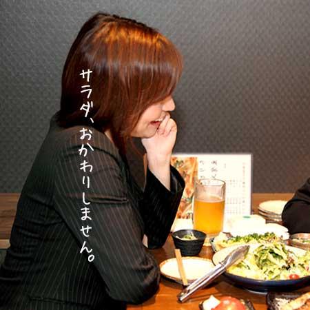 居酒屋で同僚と飲む