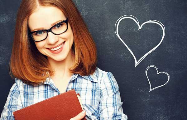 恋する眼鏡女子