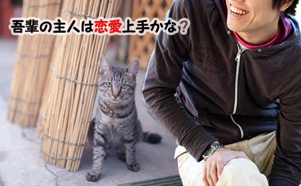 「猫好き男子の恋愛観」ネコを愛するオトコは女への理解が深いかも!
