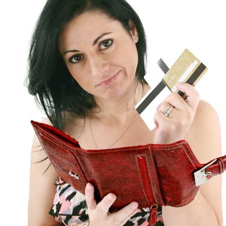 くたびれた財布
