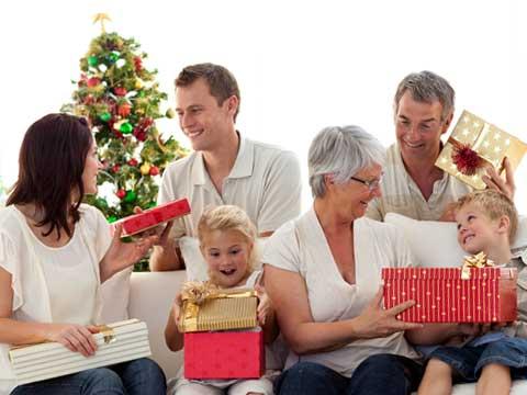 クリスマスは家族と