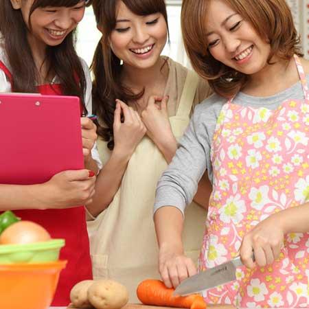 料理教室の女性達