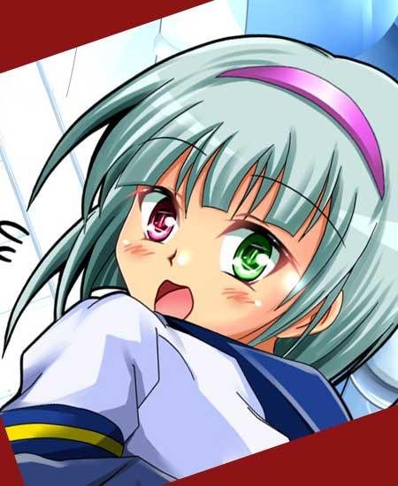 アニメの少女キャラクター