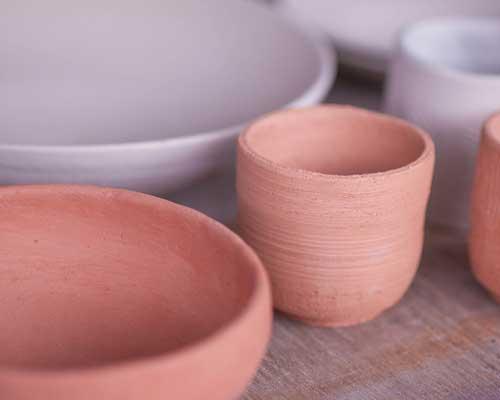 陶芸素焼き
