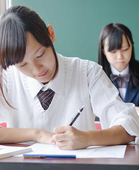 学生時代の女性