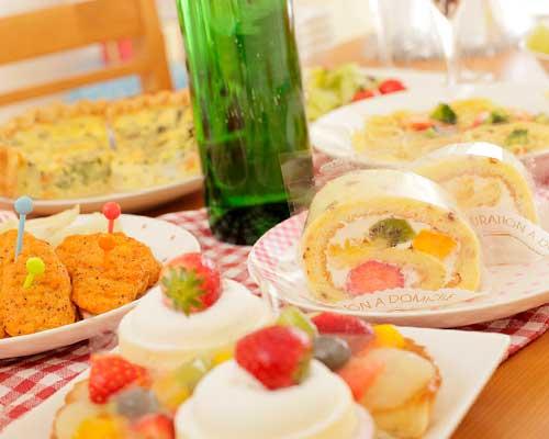 ケーキ、デザート