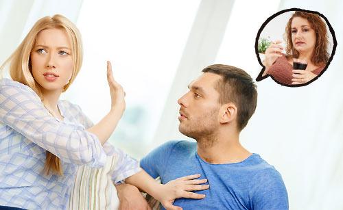 マザコンな彼氏に悩む女性