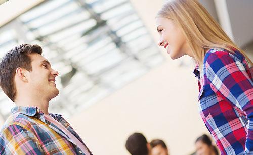 男子と女子の会話