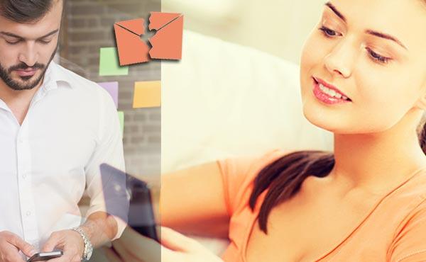 女性からメールの返信がなくて彼が恋を諦めたくなる6パターン