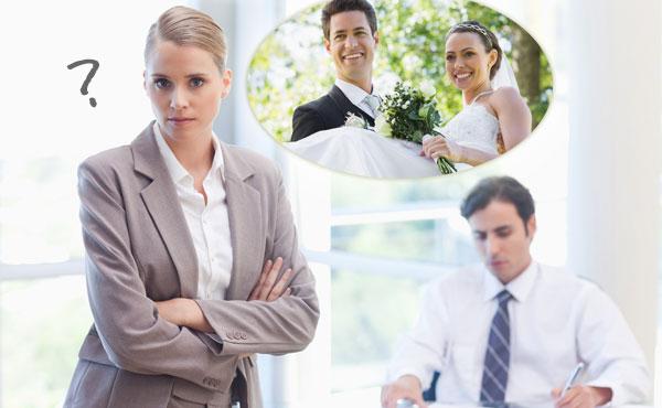 結婚報告を会社にする時「ダメ妻」認定されないためのマナー!