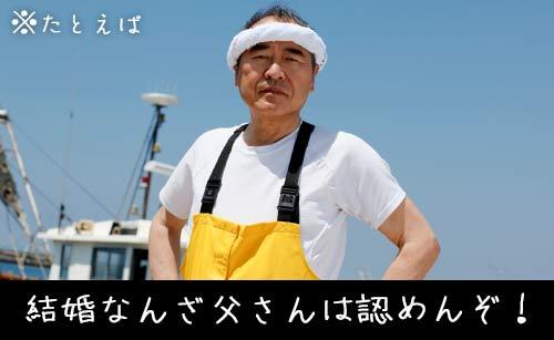 頑固な漁師