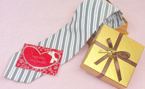 ネクタイのプレゼント