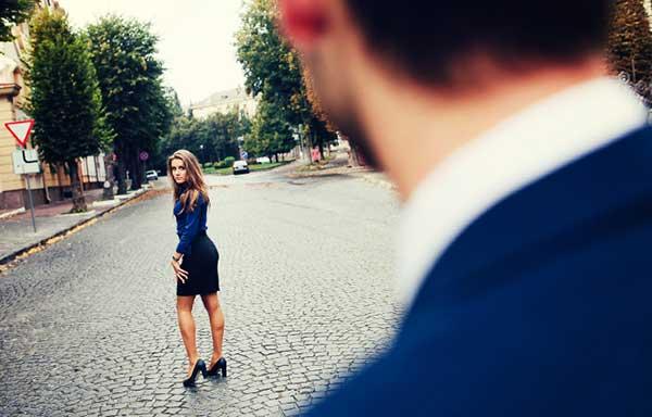 彼氏と別れる女性