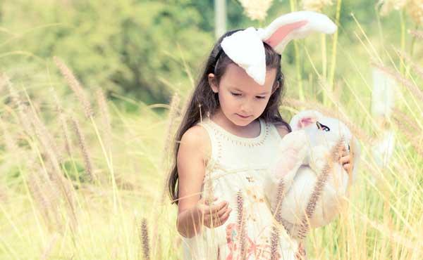 悲しみのやんでれウサギ女子