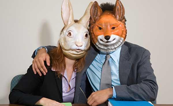 ウサギの女性と相性のいい恋人